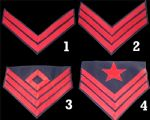 Union Artillery Insignia Chevrons [Allow 5-6 Weeks]
